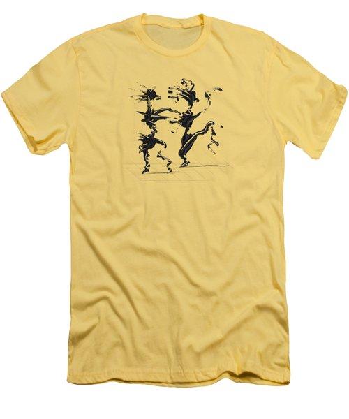 Dancing Couple 4 Men's T-Shirt (Athletic Fit)