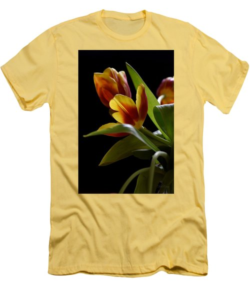 Men's T-Shirt (Athletic Fit) featuring the photograph Dark And Lovely by Deborah  Crew-Johnson