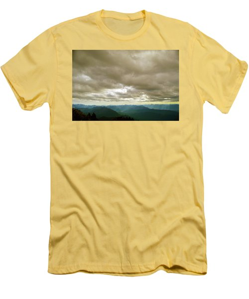 Dark Mountains Too Men's T-Shirt (Athletic Fit)