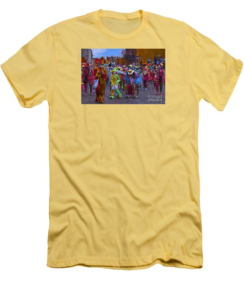 Men's T-Shirt (Slim Fit) featuring the photograph Day Of The Crazies 2013 by John  Kolenberg