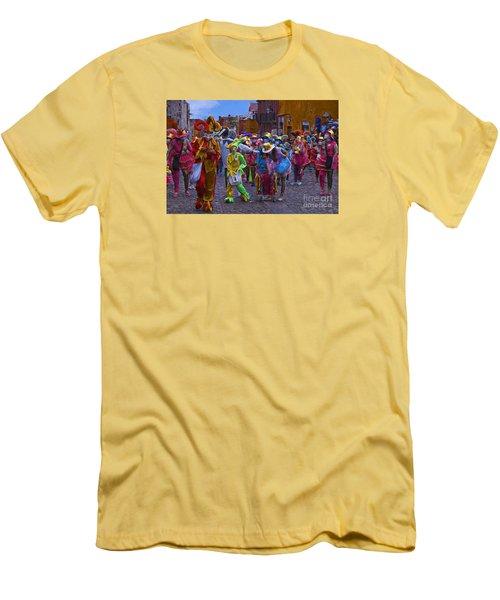 Day Of The Crazies 2013 Men's T-Shirt (Slim Fit) by John  Kolenberg