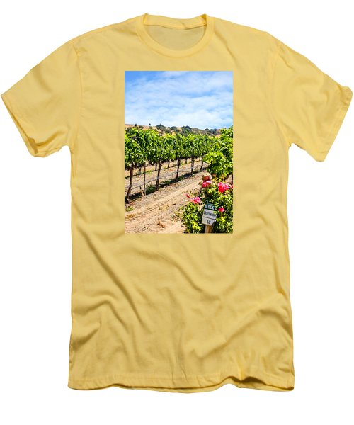 Days Of Vines And Roses Men's T-Shirt (Athletic Fit)