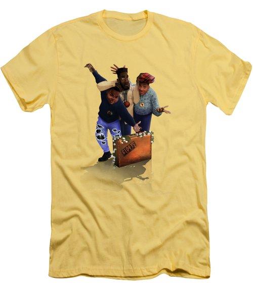De La Soul Men's T-Shirt (Athletic Fit)