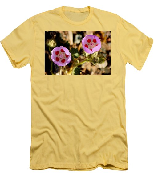 Death Valley Superbloom 105 Men's T-Shirt (Slim Fit) by Daniel Woodrum