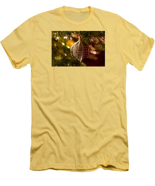 Deck The Halls Men's T-Shirt (Slim Fit) by Derek Dean