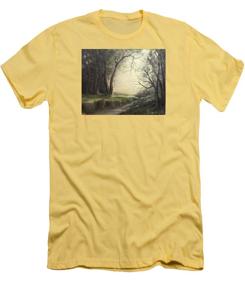 Deep Hollow  Men's T-Shirt (Athletic Fit)