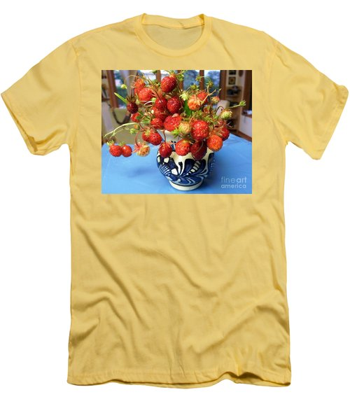 Men's T-Shirt (Slim Fit) featuring the photograph Delicate by Vicky Tarcau