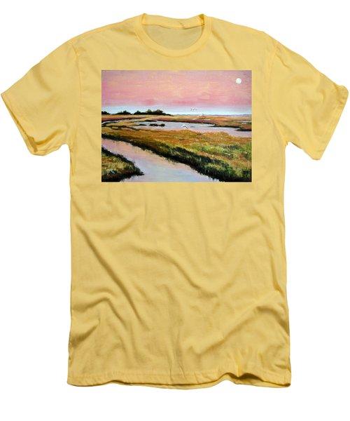 Delta Sunrise Men's T-Shirt (Athletic Fit)