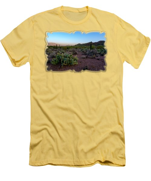 Desert Foothills H29 Men's T-Shirt (Athletic Fit)