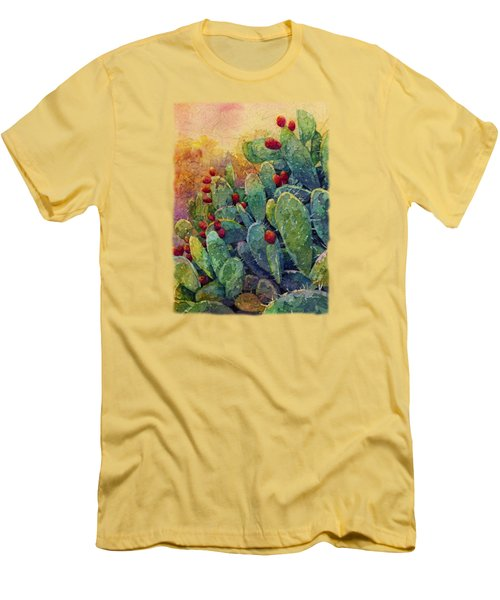 Desert Gems 2 Men's T-Shirt (Slim Fit) by Hailey E Herrera