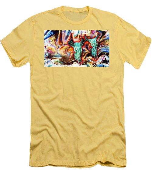 Desert Hallucination Men's T-Shirt (Slim Fit) by Ian Gledhill