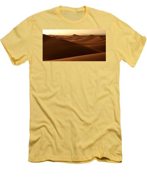 Desert Impression Men's T-Shirt (Slim Fit) by Ralph A  Ledergerber-Photography