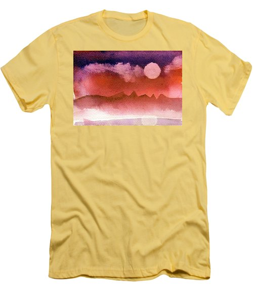Desert Reflection Men's T-Shirt (Athletic Fit)