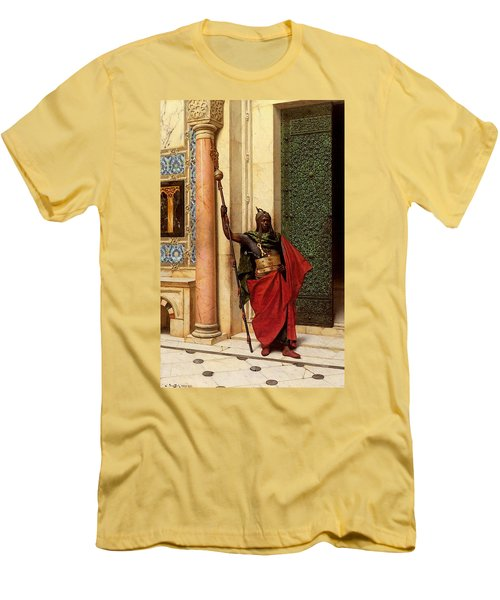 Deutsch Ludwig A Nubian Guard Men's T-Shirt (Athletic Fit)