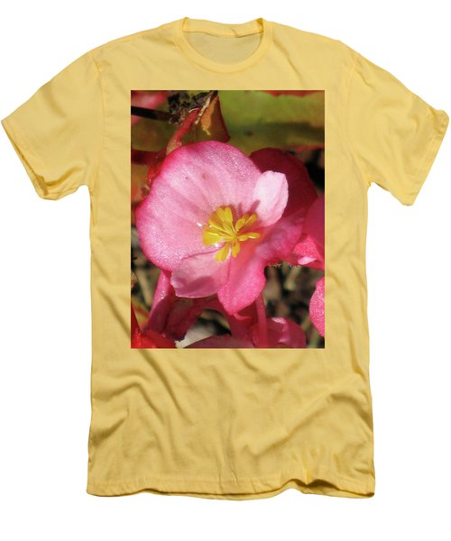 Dew Touched Men's T-Shirt (Slim Fit) by Michele Wilson