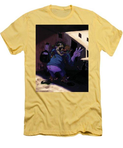 Dionysus God Of Fertility Men's T-Shirt (Athletic Fit)