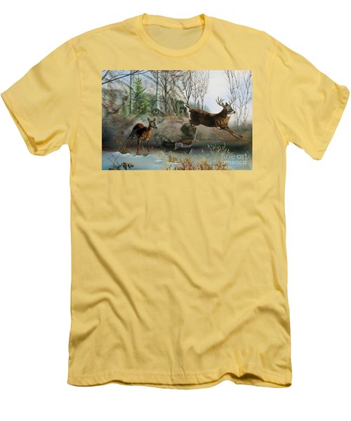 Disappearing Predator Men's T-Shirt (Athletic Fit)