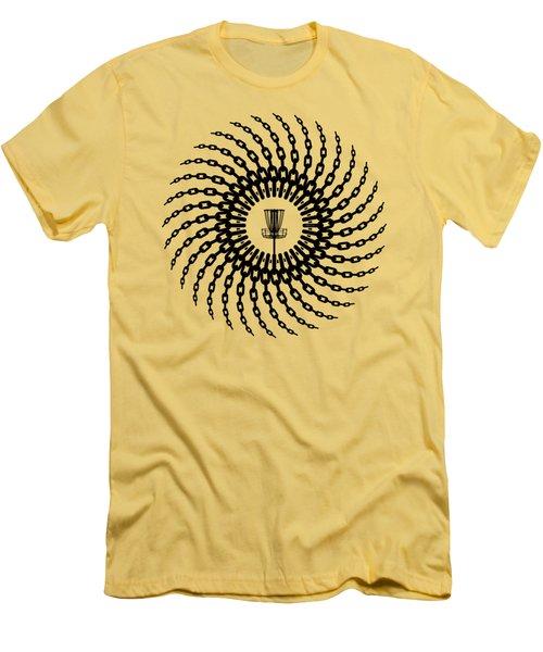 Disc Golf Basket Chains Men's T-Shirt (Athletic Fit)