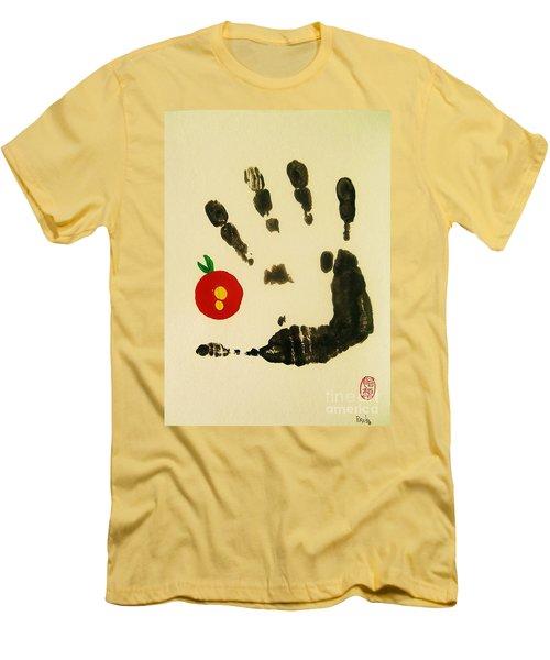 Don't Touch Me Men's T-Shirt (Athletic Fit)