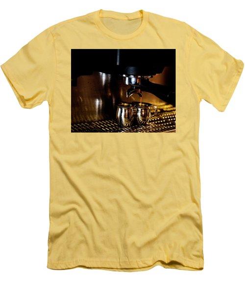 Double Shot Of Espresso 2 Men's T-Shirt (Slim Fit)