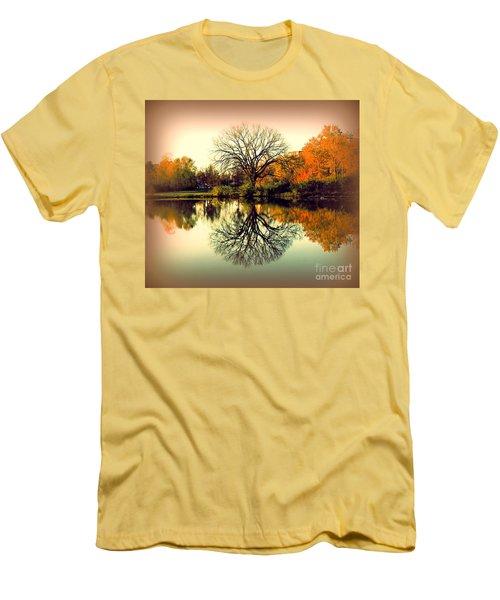 Double Take Men's T-Shirt (Slim Fit) by Nancy Kane Chapman