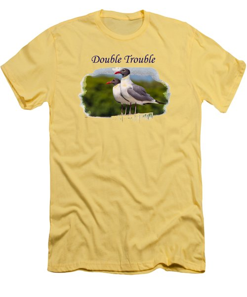 Double Trouble 2 Men's T-Shirt (Athletic Fit)