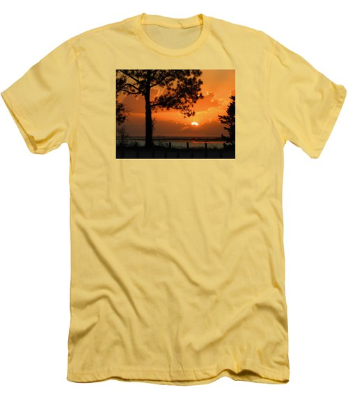 Dream Big Men's T-Shirt (Slim Fit) by Laura Ragland