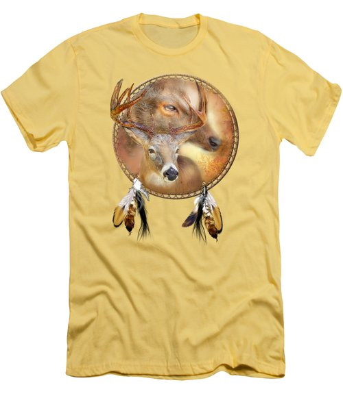 Dream Catcher - Autumn Deer Men's T-Shirt (Athletic Fit)