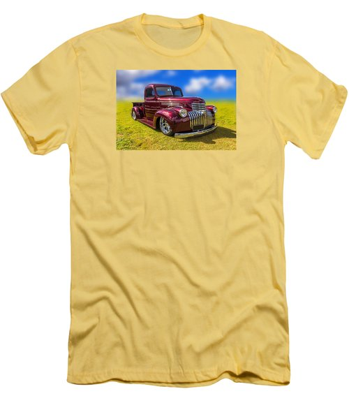 Dream Truck Men's T-Shirt (Slim Fit) by Keith Hawley