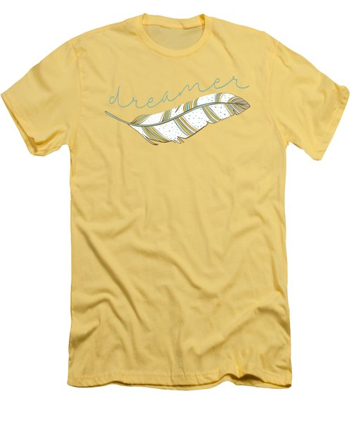 Dreamer Men's T-Shirt (Athletic Fit)