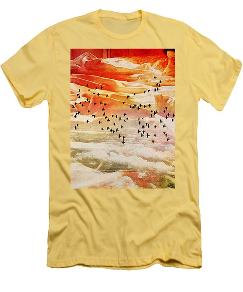 Dreaming Between The Sheets Men's T-Shirt (Slim Fit) by Ann Tracy