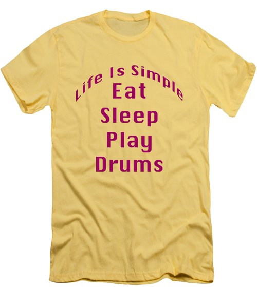 Drums Eat Sleep Play Drums 5514.02 Men's T-Shirt (Athletic Fit)