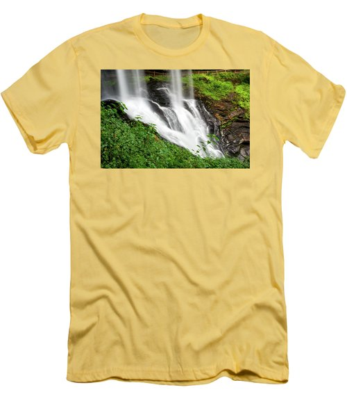 Dry Falls Men's T-Shirt (Slim Fit) by Allen Carroll