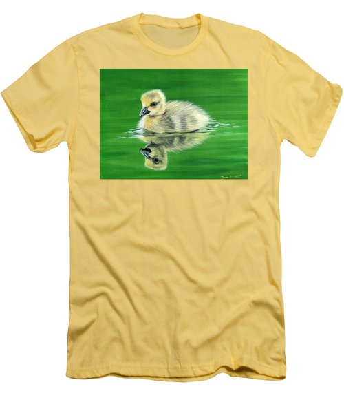 Duckling Men's T-Shirt (Athletic Fit)