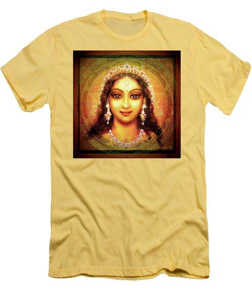 Durga In The Sri Yantra Men's T-Shirt (Athletic Fit)