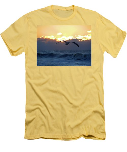 Early Bird Men's T-Shirt (Slim Fit) by Newwwman
