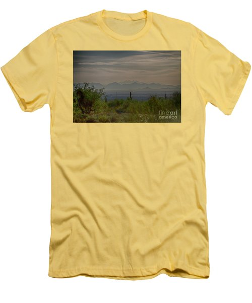 Early Morning Men's T-Shirt (Slim Fit) by Anne Rodkin