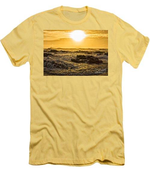 Edge Of The World Men's T-Shirt (Slim Fit) by Billie-Jo Miller
