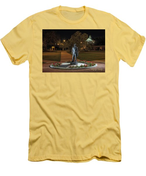 Men's T-Shirt (Slim Fit) featuring the photograph Edwin Stephens At Night by Gregory Daley  PPSA