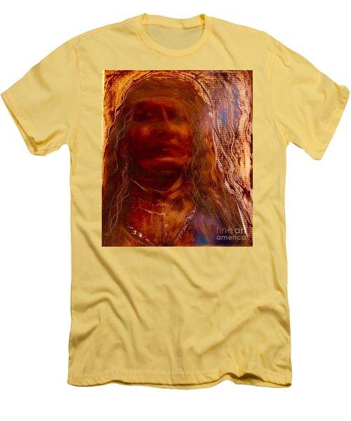 Wisdomkeepers Men's T-Shirt (Slim Fit) by FeatherStone Studio Julie A Miller