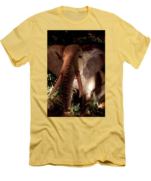 Elephant At Rainforest Cafe Men's T-Shirt (Athletic Fit)