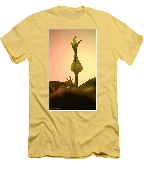 Men's T-Shirt (Slim Fit) featuring the photograph Embrace by Joyce Dickens