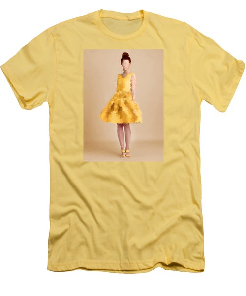 Men's T-Shirt (Slim Fit) featuring the digital art Emma by Nancy Levan