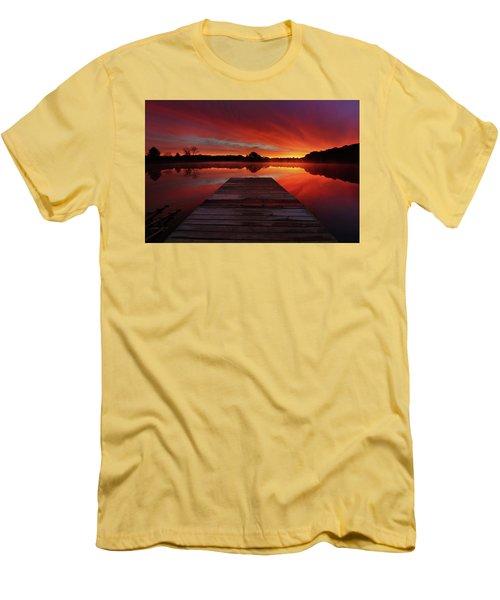 Endless Possibilities Men's T-Shirt (Slim Fit) by Rob Blair