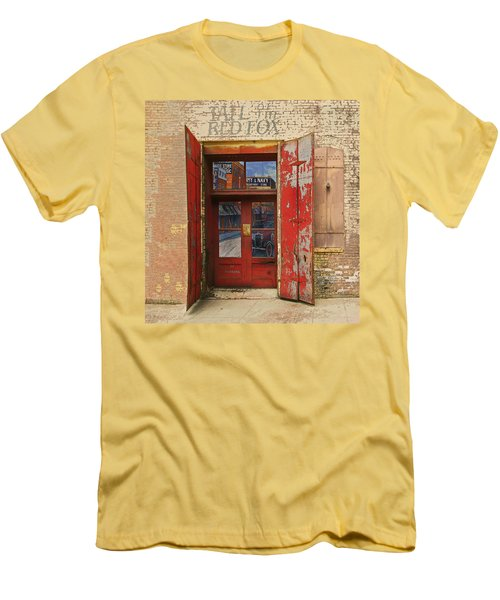Entry Into The Past Men's T-Shirt (Slim Fit) by Jeff Burgess