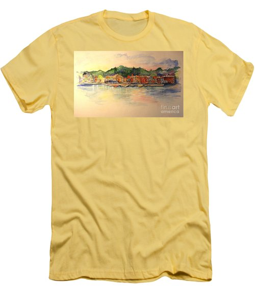 Evening In Skaneateles Men's T-Shirt (Athletic Fit)