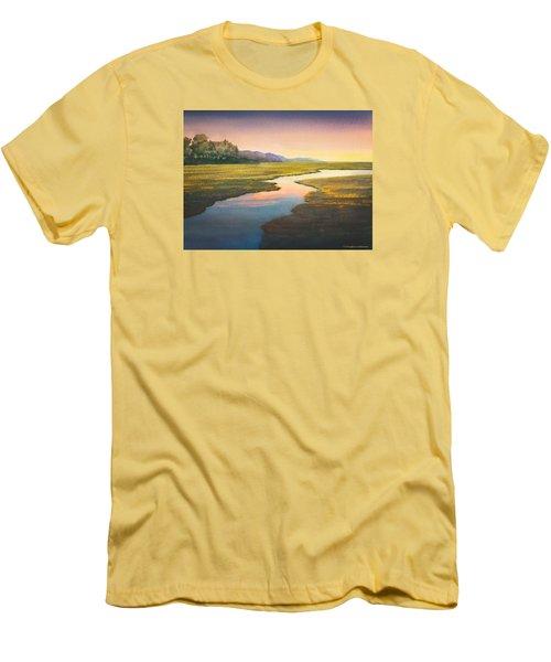 Evening Light Men's T-Shirt (Slim Fit) by Douglas Castleman