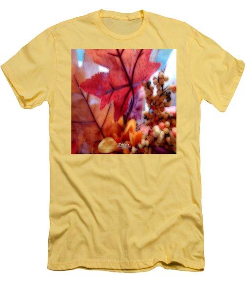Fall Colors # 6059 Men's T-Shirt (Slim Fit) by Barbara Tristan