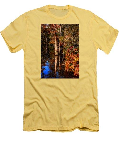 Fall Colors  Men's T-Shirt (Slim Fit) by Ester Rogers
