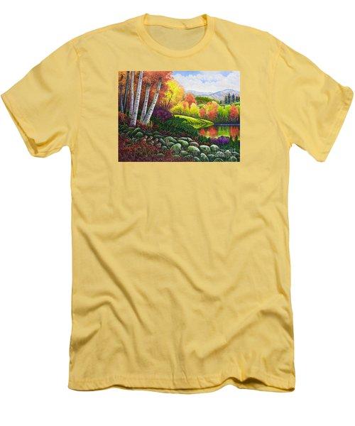 Fall Colors Men's T-Shirt (Slim Fit) by Michael Frank